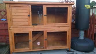 bunny hutch for sale for sale 2 rabbit hutches newport newport pets4homes