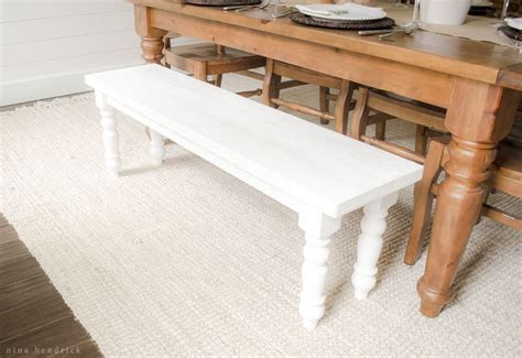 easy benches to build how to build a simple farmhouse bench with free building plans