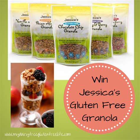 Gluten Free Giveaway - jessica s natural foods gluten free granola giveaway my dairy free gluten free life