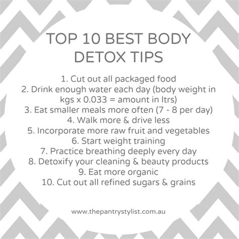 Detox Tips by Top 10 Best Detox Tips Detox Health Fitness