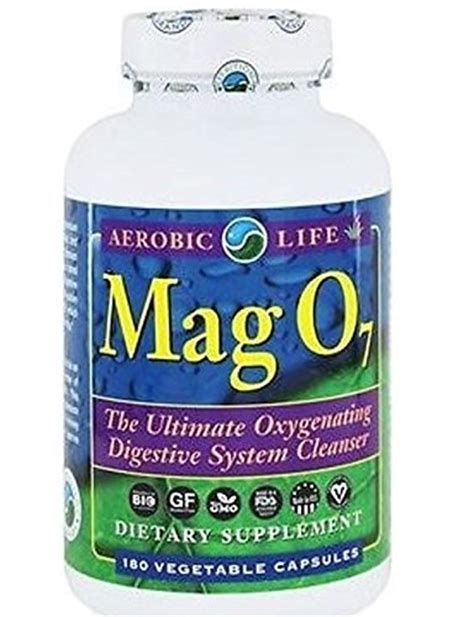Does Mag07 Detox by Aerobic Mag 07 Oxygen Digestive System Cleanser