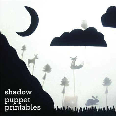 free shadow puppet templates 17 best images about nocturnal animal crafts on