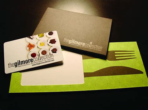 Gilmore Collection Gift Cards - the gilmore collection gift card holder on behance