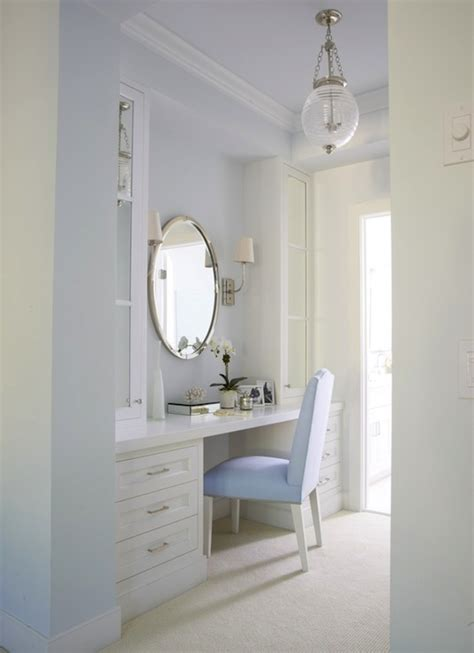 Bathroom With Dressing Room by White And Blue Dressing Room Transitional Bathroom