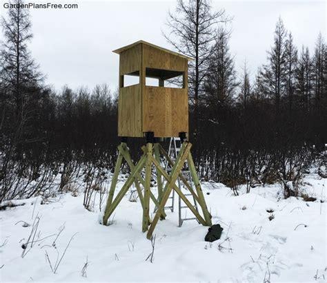 diy  deer stand  garden plans   build