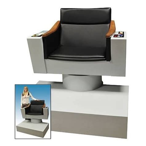 Cool Chairs For Your Room by Trek These Are The Voyages Of Kirk S Chair In Your Media Room