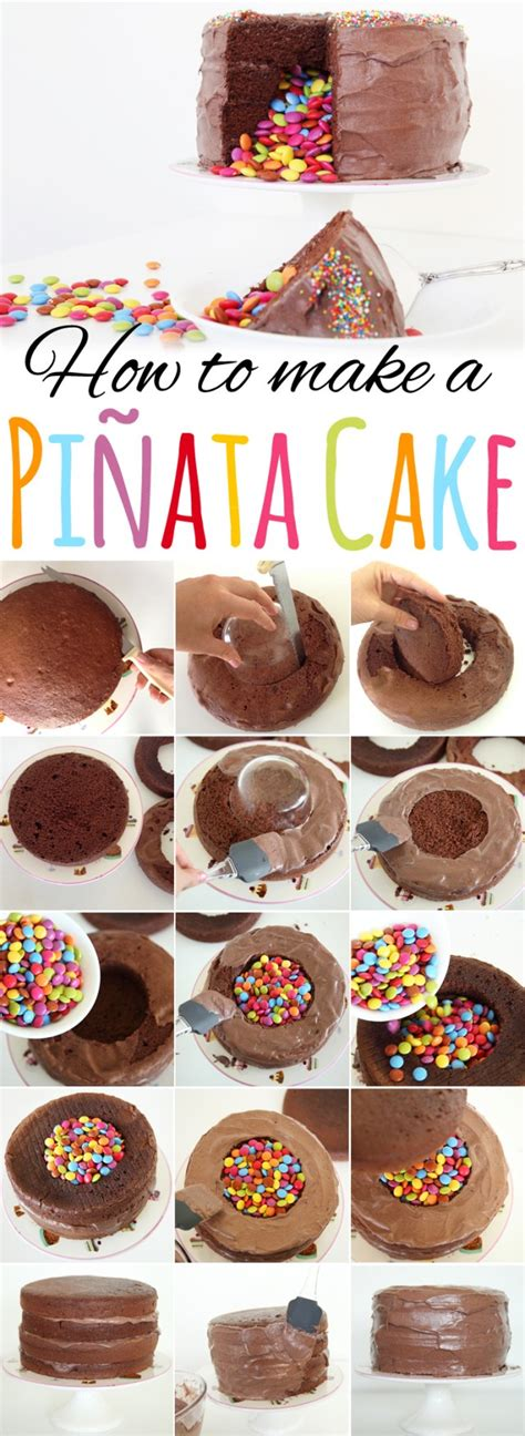 how to make a design food design how to make a pinata cake a designer
