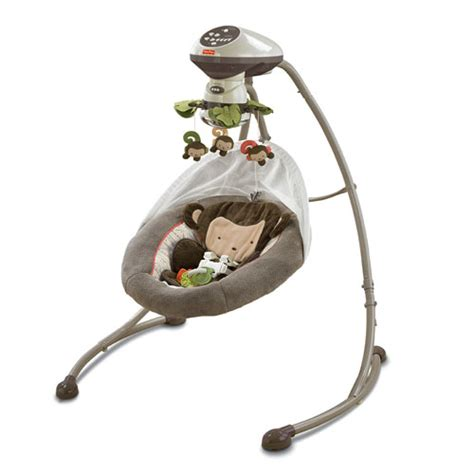 my little snug a monkey swing every baby deserves royal treatment and fisher price is up