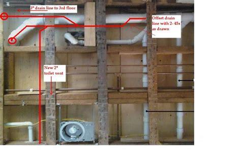 Bathroom Addition Plumbing 3rd Floor Bathroom Addition Plumbing Venting