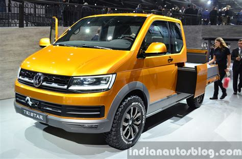 Tristar Jeep Vw Tristar Concept Front Quarter At The 2014 Motor