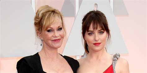 did dakota johnson not shave melanie griffith opens up on her relationships