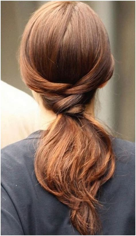 easy hairstyles with ponytails easy ponytail hairstyles for long hair straight hair