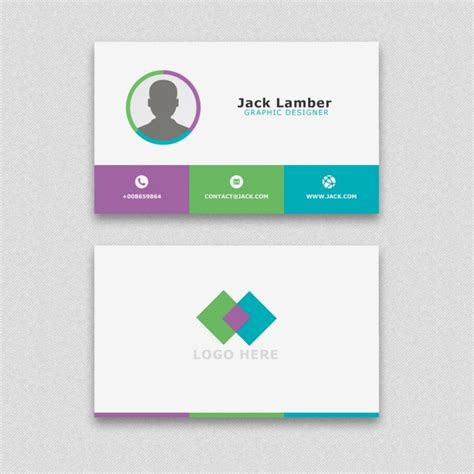 business cards shapes templates simple business card with geometric shapes psd file free