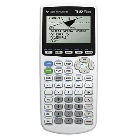 calculatrice graphique bureau en gros instruments ti 82 plus calculatrice