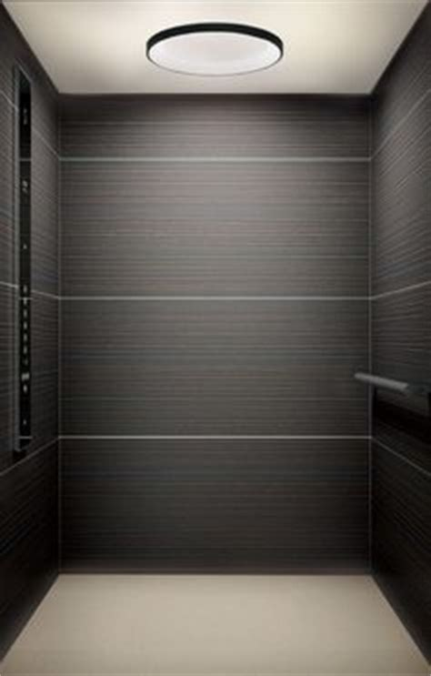 Travertine Elevator Interiors by Balfour Building In Toronto Ontario Features A Custom