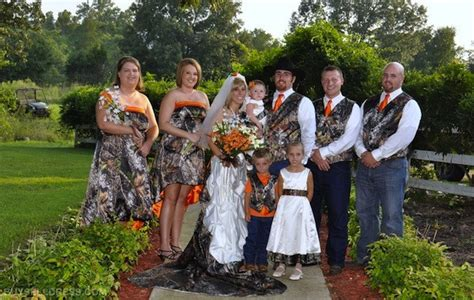 camo wedding ideas for weddings