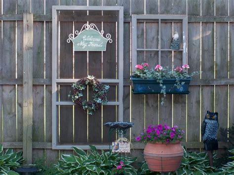 decorate  garden fence   beautiful