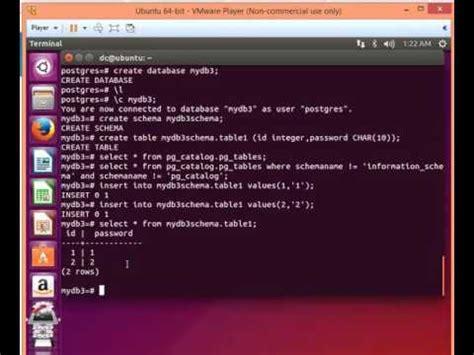 tutorial postgresql linux pgadmin linux buzzpls com