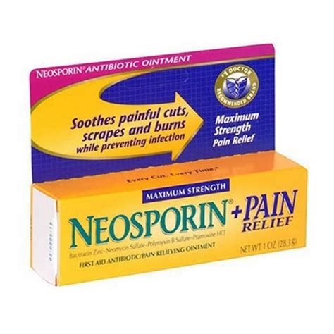 neosporin on geekshive neosporin plus relief aid antibiotic industrial scientific