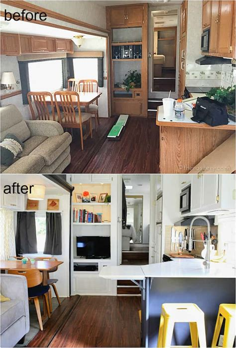 best 25 rv remodeling ideas on pinterest tiny house living cer home reveal the noshery