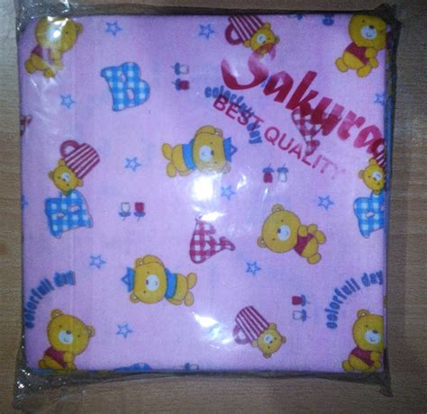Bedong Bayi Ukuran 100x90 Flanel jual 1 2 lusin bedong bedong kotak selimut bayi katun