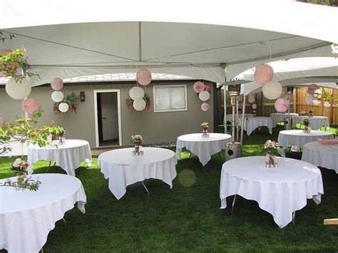 backyard budget friendly wedding wedding ideas