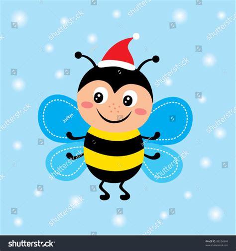 merry christmas bee stock vector illustration  shutterstock