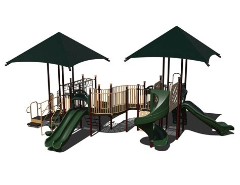 composite swing set gg 0019 composite playset affordable playgrounds by trassig