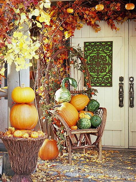 nicely fall decorated front porch pictures   images  facebook tumblr pinterest