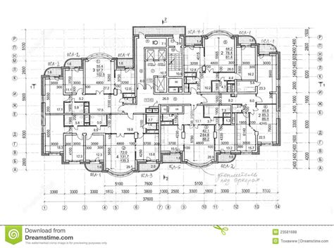 construction plans floor architectural construction plan royalty free stock