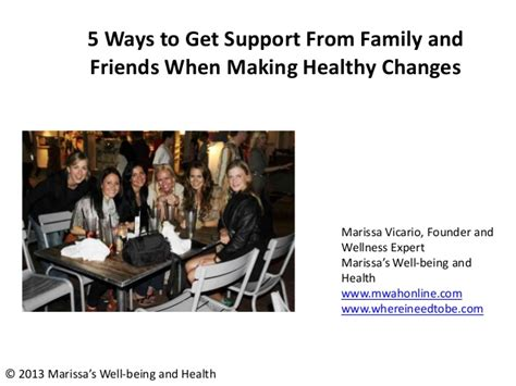 8 Ways To Get Your Family On The Fitness Wagon by Five Ways To Get Support From Family And Friends When