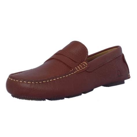 casual leather loafers chatham s shoes escape brown leather casual
