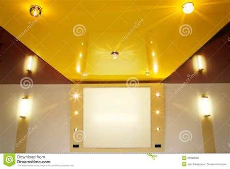 Pvc Stretch Ceiling by Pvc Stretch Ceiling Royalty Free Stock Photos