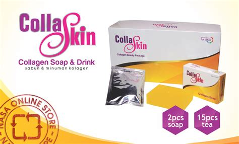 Collagen Drink Nasa 72 coskin quot collagen skin care quot 1 paket pemutih kulit