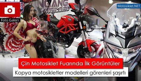 cin motosiklet fuari basladi kopya modeller goerenleri
