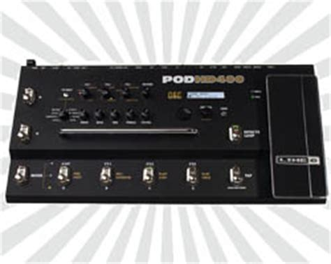 Discontinued Line 6 Floor Pod line 6 pod hd400 multi effects pedal reviews