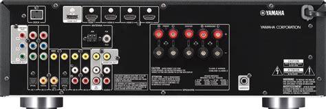 amazoncom yamaha rx vbl  channel av receiver