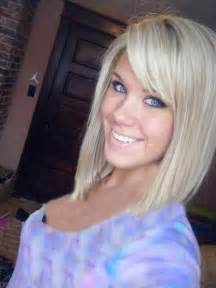 hairstyles that are angled towards the angled bobs with bangs short hairstyles 2016 2017