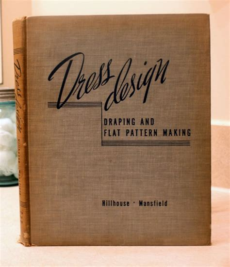 dress design draping and flat pattern making pdf favorite vintage sewing and pattern drafting books