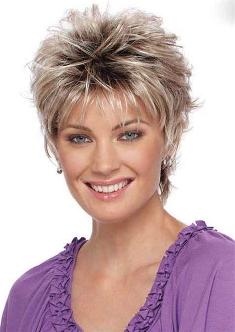 short hair style female 2016 with regard to invigorate short haircuts for women over 40 with fine hair with