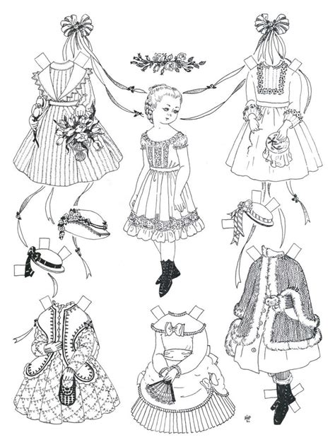 printable paper figures free printable paper doll coloring pages for kids