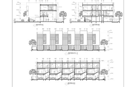 autocad section architecture drawings by mohammed asim baig at coroflot com