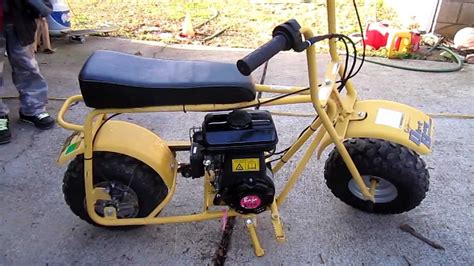 baja doodlebug mini bike reviews baja doodle bug mini bike 97cc doovi