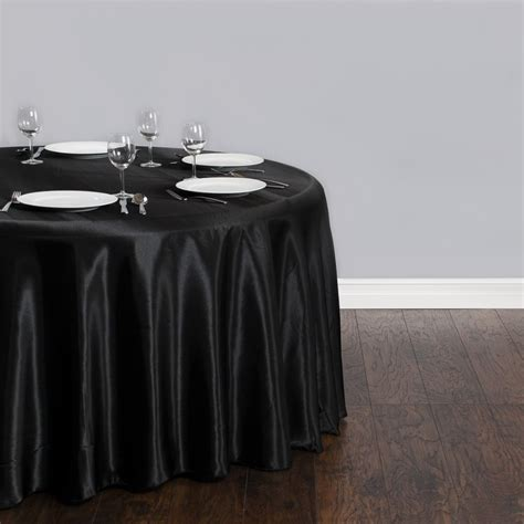 cheap table clothes free shipping 10pcs cheap black 90 satin table