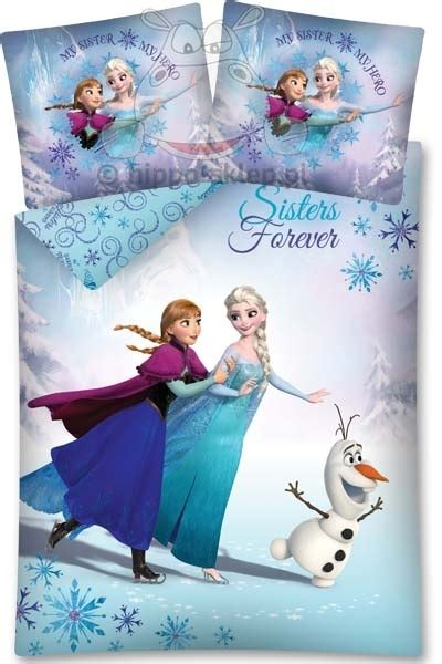 Bed Cover Set Frozen 180x200 T3010 bedding frozen forever children bedding bedding with disney characters en hippo