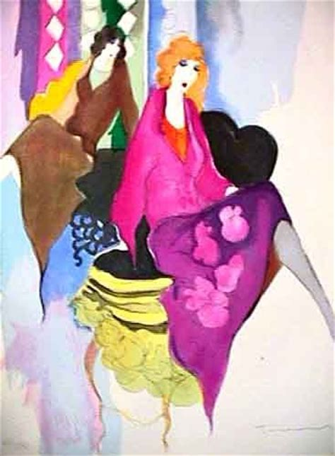Artist Tarkay Biography   art biography and artist art on pinterest