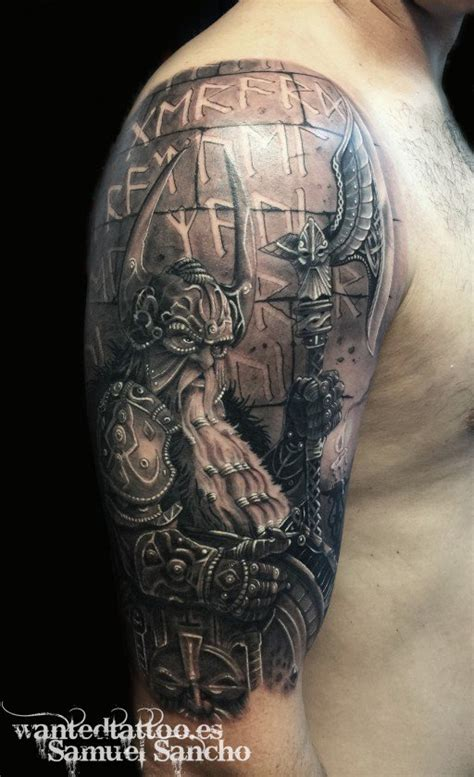germanic warrior tattoos www pixshark com images