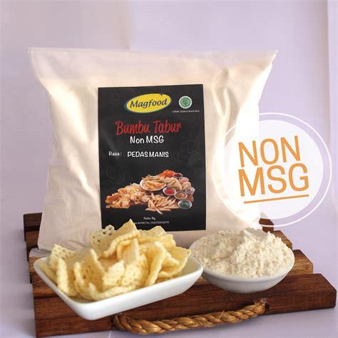 Bumbu Tabur Sehat Non Msg jual magfood bumbu tabur rasa pedas manis non msg kemasan plastik 1 kg harga murah jakarta oleh