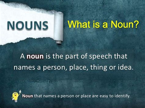 what is a what is a noun