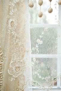 French lace curtains oh my more shabby chic lace curtains lace window